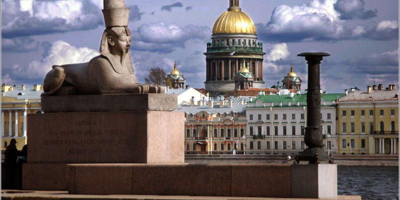 San Petersburgo y sus esfinges