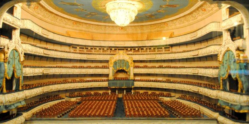 El teatro Mariinsky, cuna del ballet ruso