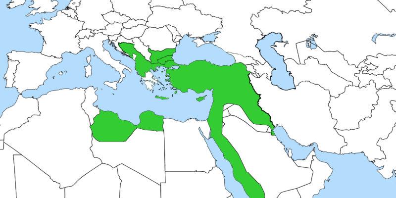 Imperio Otomano 1882
