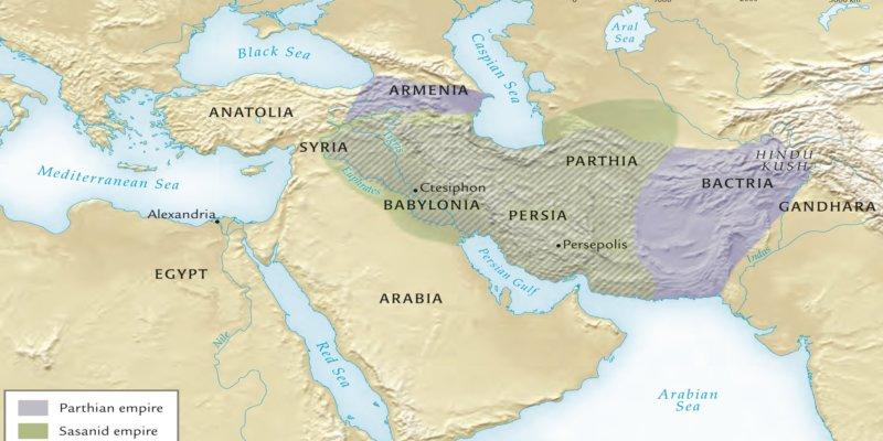 Mapa Imperio Parto