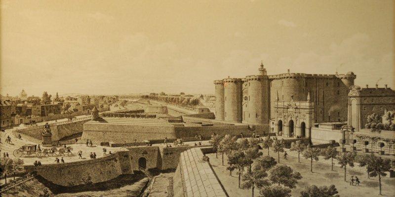 Las egipcias de la Bastilla