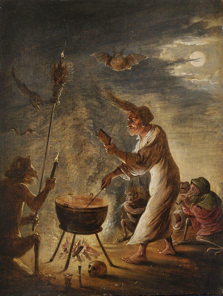 Los Juicios de Las Brujas