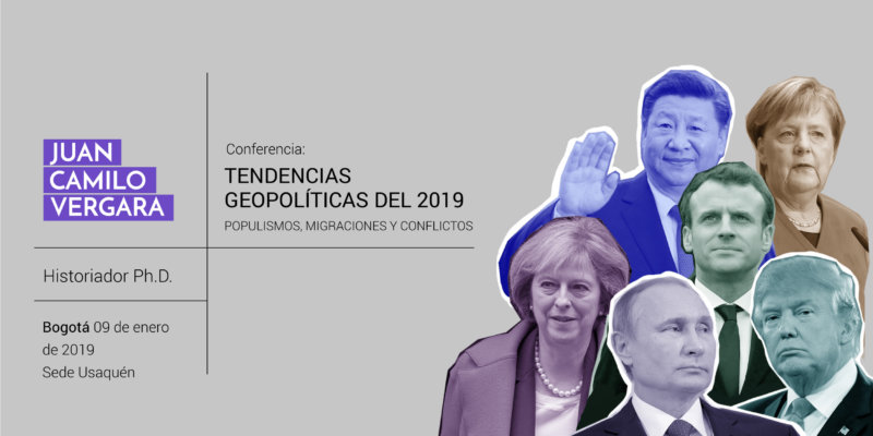 Tendencias geopolíticas en el 2019